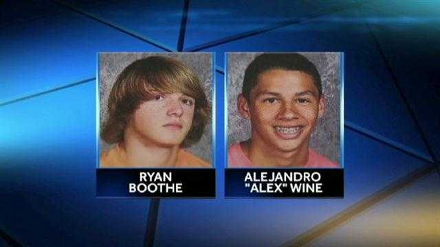 Investigators said the driver, identified as 17-year-old Alejandro Santiago Wine, of Essex, and the other front seat passenger, 17-year-old Ryan James Boothe, of Essex, were pronounced dead at the scene. The third passenger, 17-year-old John Robert Morris III, also of Essex, was transported by Baltimore County EMS personnel to Bayview Trauma.