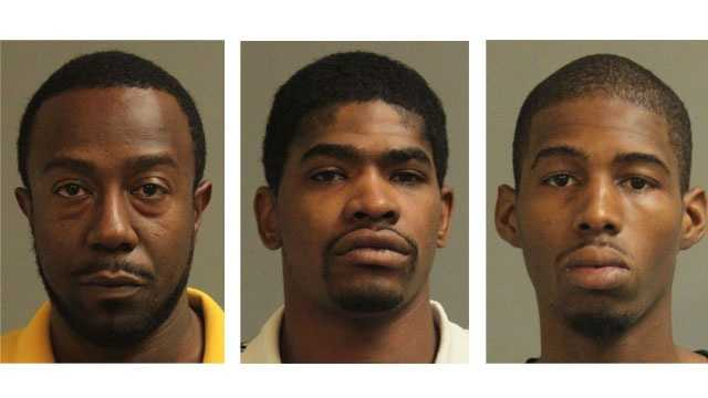 Barry S. McCray Jr., 31, Robert Adrain Fleetwood, 30, and Tavahn Carlton Young, 21, were arrested and charged with various drug-related offenses after a bust in Glen Burnie.