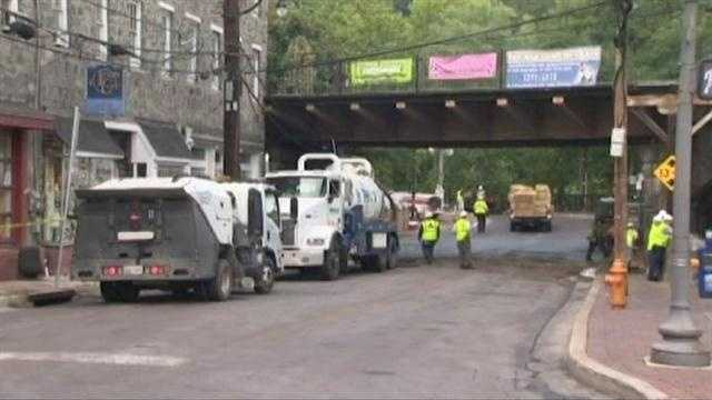 Ellicott City Main Street Reopens