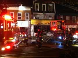 There's still no word Monday on what caused the fire.