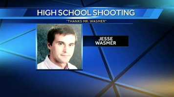 Students and community members are thanking Perry Hall High School counselor Jesse Wasmer from preventing the gunman from taking more lives in a Facebook Page entitled Thanks Mr. Wasmer. They said Wasmer was able to physically restrain the armed student until a school resource officer arrived and put him in custody.