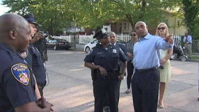 New Baltimore Police Commissioner-designate Anthony Batts talks with officers and the community to get a feel for the city.