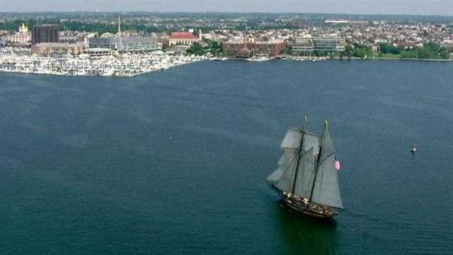 After being out to sea since Sailabration in June, the Pride of Baltimore II returns to Fells Point.
