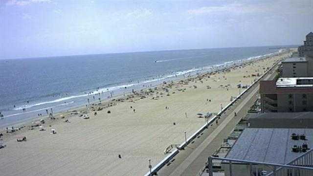Ocean City Maryland beach