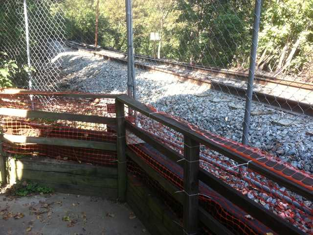 Authorities have since installed a fence at the site of the derailment.