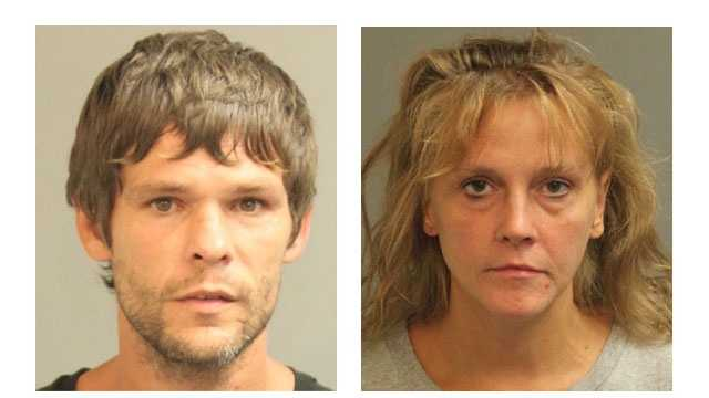 Authorities said Eugene Wayne Krenzer, 39, and Sandra Lynn Krenzer, 38, were arrested and charged with various drug-related offenses.