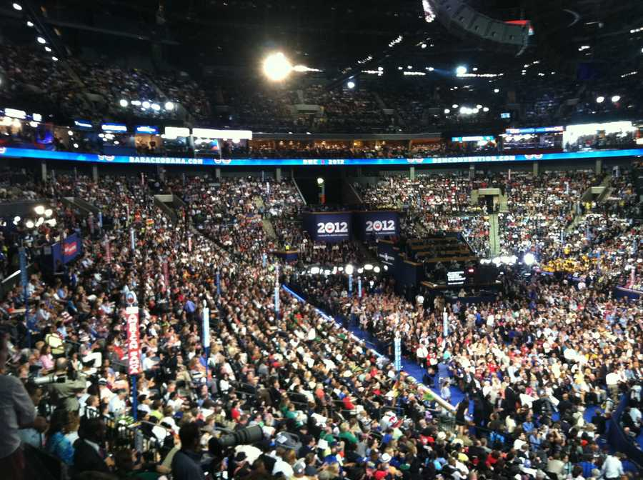 There's no empty seat on the night of President Barack Obama's address.
