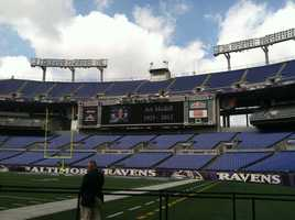 The Modell family invited the public to a silent tribute at M&T Bank Stadium.