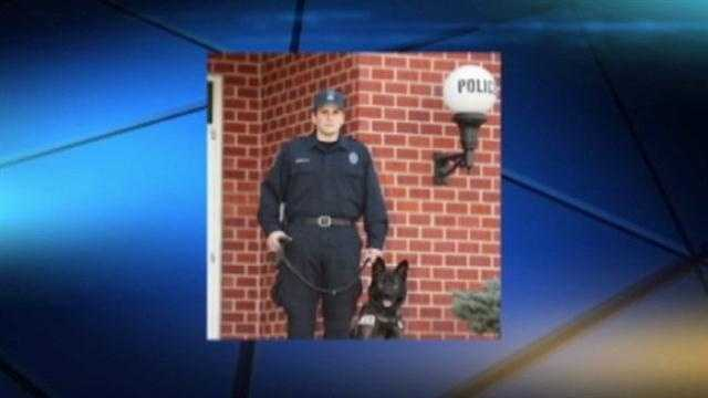 Charles Armetta, 29, was a K-9 officer with the Aberdeen Police Department.