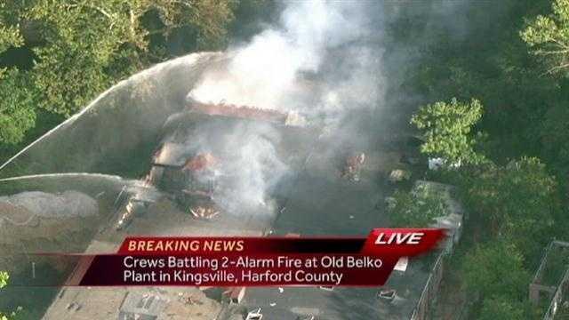 Kingsville 2-Alarm Fire