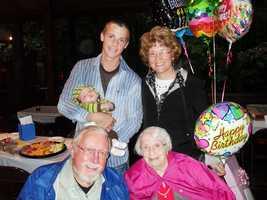 Helen Wheat, who celebrates her 110th birthday on Sept. 16., has three children, nine grandchildren, 18 grandchildren and three great-great grandchildren.