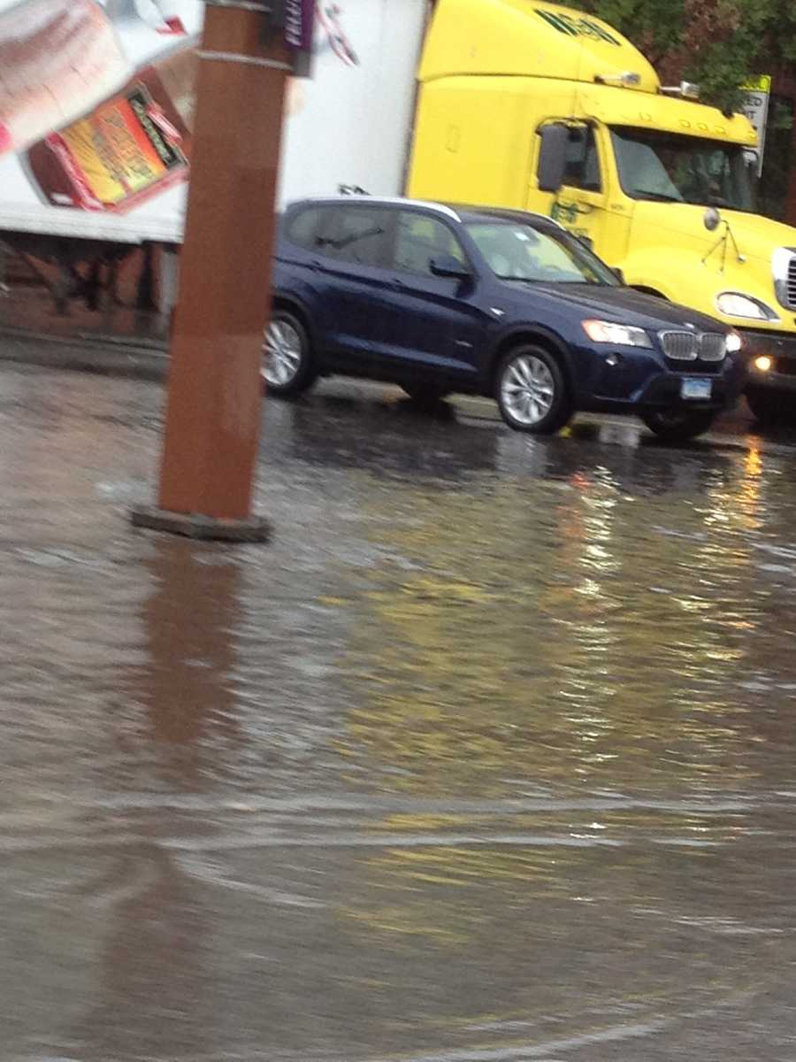 Miller's Island flooding