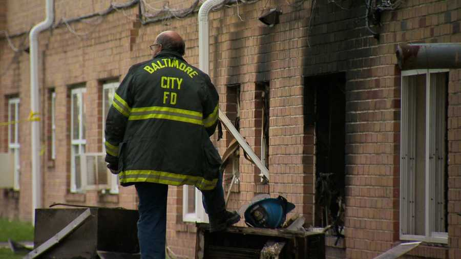 The fire started just before 4 a.m. at the Parkside Gardens Apartments off Erdman Avenue in the 5000 block of Lodestone Way.