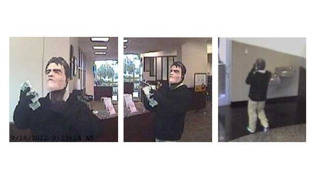 Anne Arundel County police are asking for the public's help to identify an armed robber and that struck a bank in Annapolis.