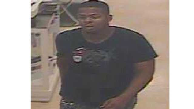 Baltimore City police said they need the public's help to identify an armed robber who struck at Marshall's store.