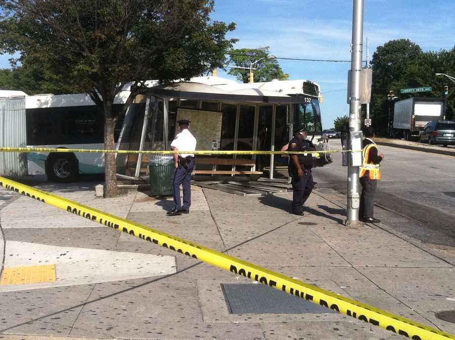 MTA officials said seven people were injured and are being treated for non-life-threatening injuries.