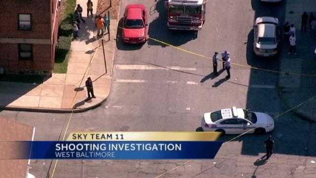 West Baltimore Shooting