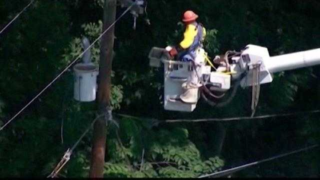 State regulators are looking into whether they can prohibit BGE from charging its customers during outages.