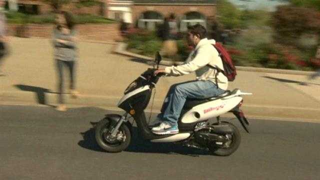 There are new laws for motor scooter operators in Maryland.