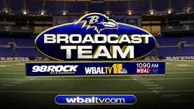 WBAL-TV, WBAL Radio and 98 Rock are proud to be your Ravens Broadcast Team.