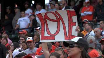 O's fans all over Birdland are lovin' the thrill of baseball and Orioles Magic.