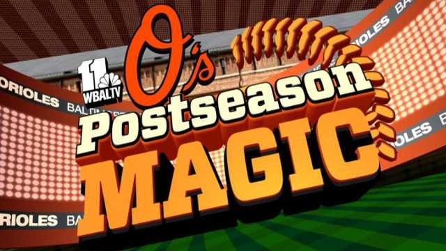 Watch the postseason unfold with LIVE coverage with the O's on WBAL-TV 11 News and wbaltv.com