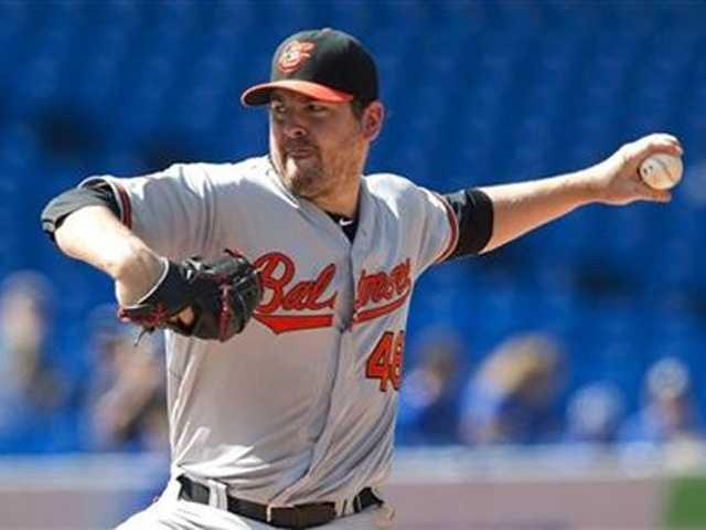 LHP Joe Saunders (3-3, 3.63 ERA, 23 Ks, 8 BBs in 44 2-3 innings over 7 starts with Orioles)
