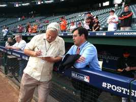 Dan Duquette, the Orioles' executive vice president of baseball operations, offers his perspective ahead of the American League Wild Card Game in Texas.