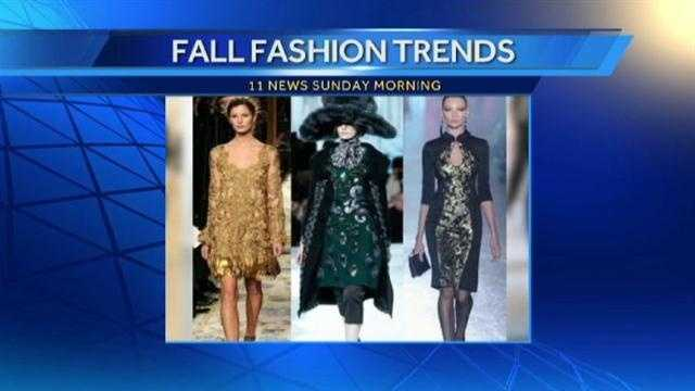 A touch of bling gives fall fashion a dash of dare.