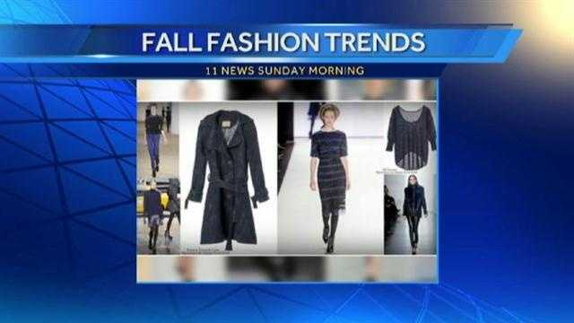 Semerjian says navy blue is the new black for fall.