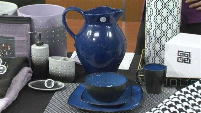 Set your table up for royal entertaining with navy blue at bargain prices.