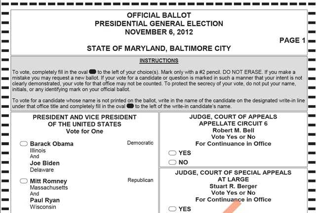 Commitment 2012: Maryland Ballot Questions