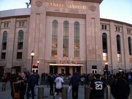 The American League Division Series reaches the Bronx.