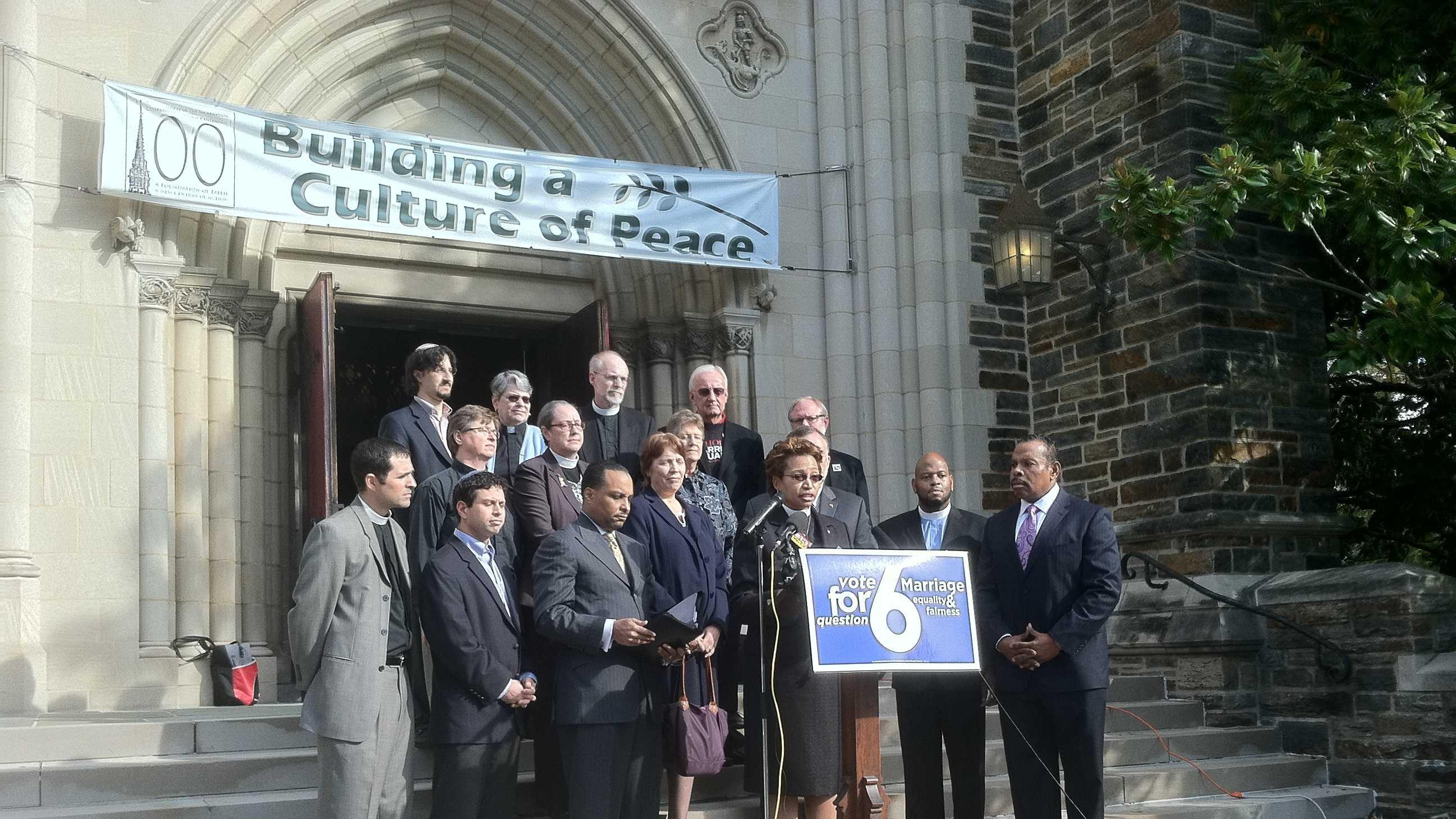 Baltimore same-sex clergy presser