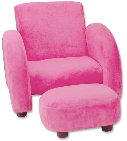 Staples in the binding on the back of the chair may come loose, posing a laceration or choking hazard if swallowed.