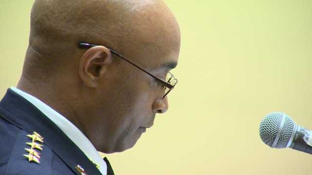Baltimore City police Commissioner Anthony Batts