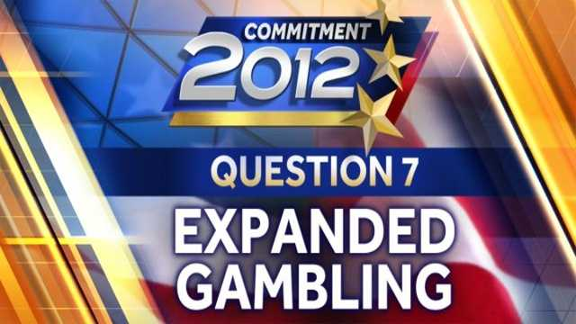 Commitment 2012 - Expanded Gambling Question 7