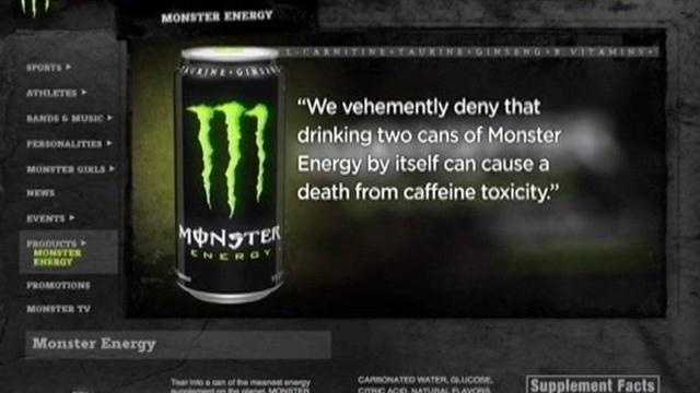 The parents of a Hagerstown teenager are suing the maker of Monster Energy drink saying caffeine in the drink contributed to their daughter's death.
