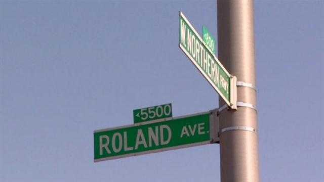Baltimore City police said two people were robbed at gunpoint in separate attacks in Roland Park early Wednesday morning.