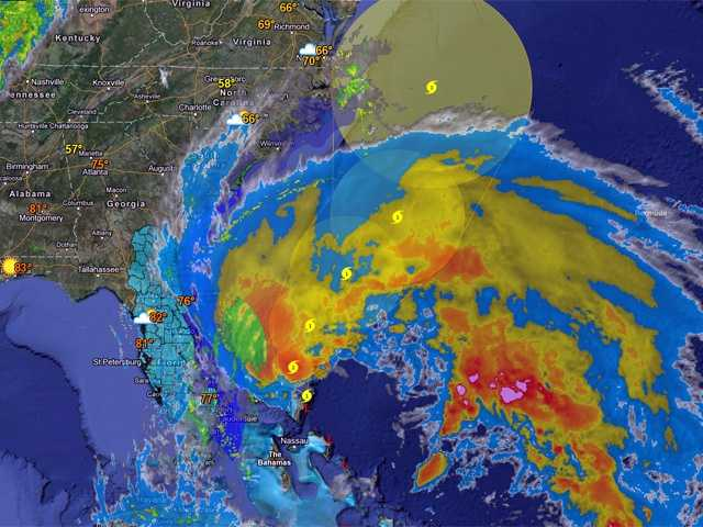 See the interactive version of this map, and in full screen, here on wbaltv.com.