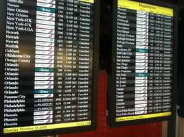 BWI cancellations