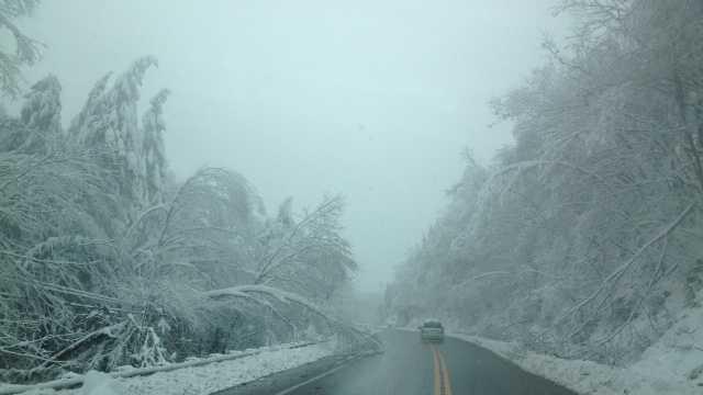 Garrett County snow