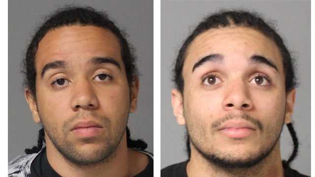 Police said 22-year-old David Christopher Frederick and 20-year-old Timothy Frederick were arrested in connection with home burglaries.