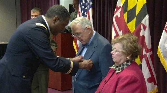 Two men who put their lives on the line for the country were honored on with the bronze star. One of the veterans served in World War II and is now 94 years old, the other honoree served in Vietnam.