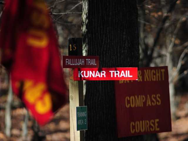 The new trails are named in honor those who fought in Sangin and Kunar Province Afghanistan, as well as Fallujah, Iraq.