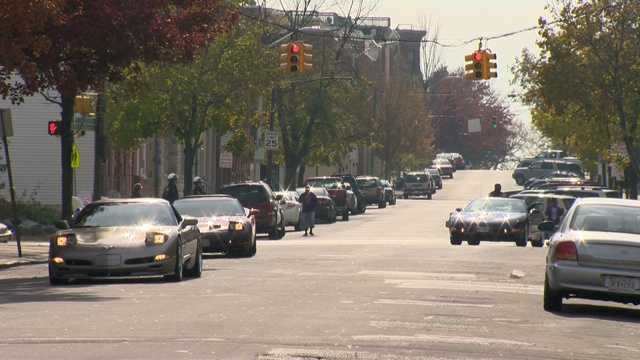 Corvettes invade downtown Baltimore on Saturday -- a spectacular sight for a great cause -- for the sixth annual Bea Gaddy Corvette Food Run.