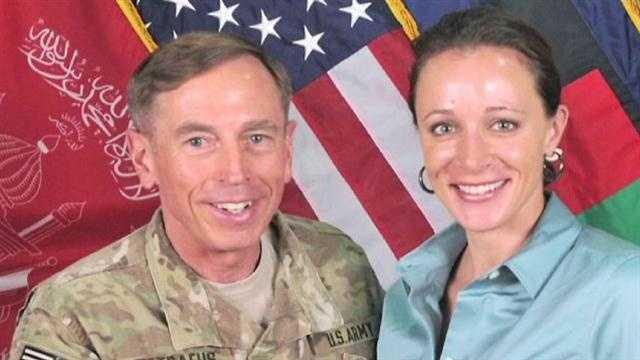 General David Petraeus with Paula Broadwell