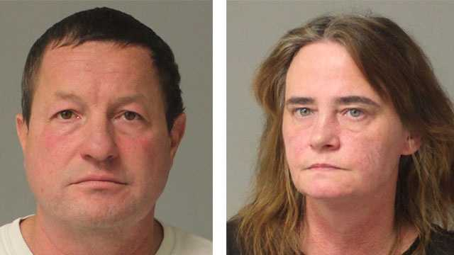 Police said Paul Edward Burke, 48, Dawn Marie Burke, 45, were arrested and charged with various drug-related offenses.