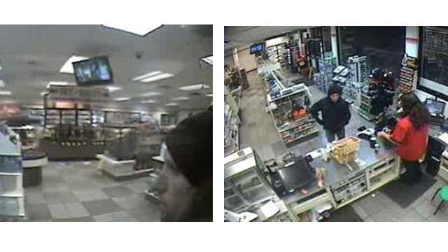 Police are looking for the robber who struck at a 7-Eleven store in Annapolis.