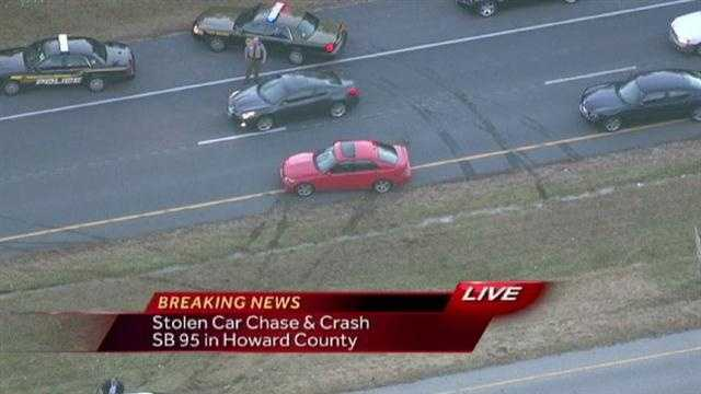 Car Chase on Southbound I-95